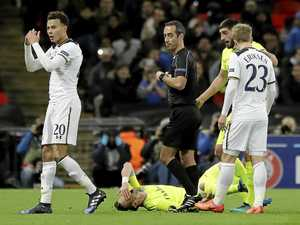 Alli sees red as Spurs crash out of Europe