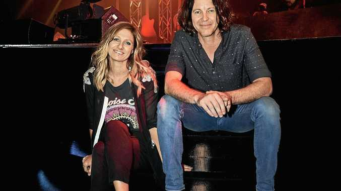 ON TOUR: Kasey Chambers and Bernard Fanning will play in Grafton this weekend as part of their Sooner or Later tour.