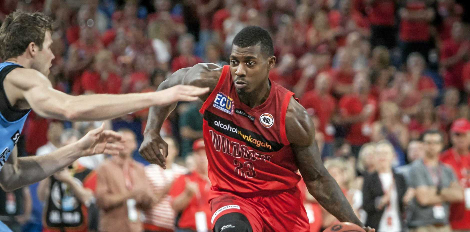 Casey Prather of the Perth Wildcats.