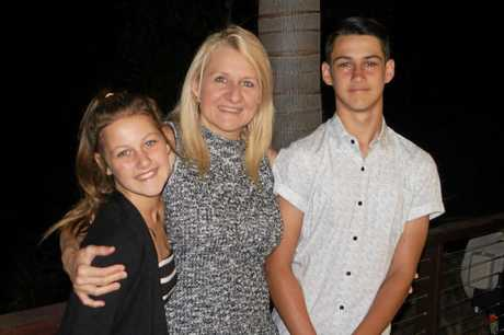 MUM LOVE: As a successful business owner and mother to two, Maree  Gutschlag said the key is a happy work life balance.