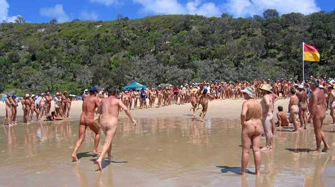 optional nude beach Clothing