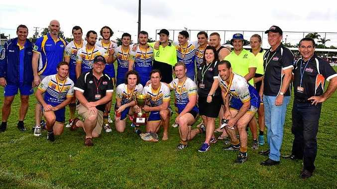 The Yeppoon Seagulls, pictured after their win at last year's Nines carnival, will be chasing the three-peat in 2017.