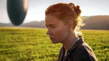 Amy Adams in a scene from the movie Arrival.