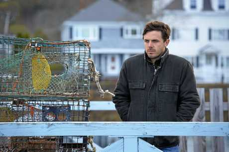 Casey Affleck in a scene from the movie Manchester By The Sea.