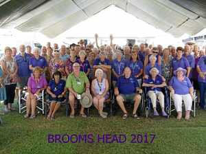 The Clarence Valley Ramblers celebrate their 19th birthday at Brooms Head.