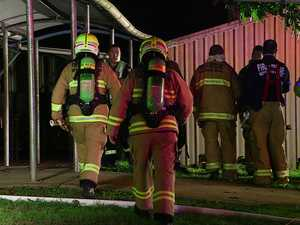 SCHOOL FIRE: NSW Fire and Rescue crews extinguished a number of suspicious fire at Bellingen High School this morning.