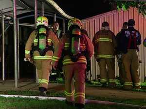 Three girls, 15, are in custody over the Bellingen High School Fire in February.