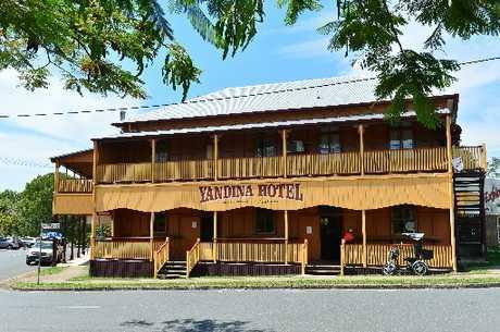 The Yandina Hotel.