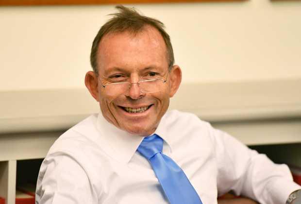 Tony Abbott... has had plenty to say about Malcolm Turnbull.