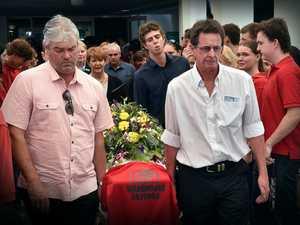 Funeral of Ella Hendrie.