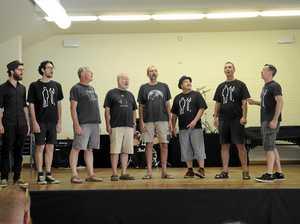 Spooky Men's Chorale masterclass