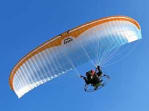 Paraglider injured after crash-landing on Darling Downs