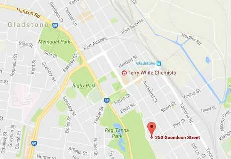 KITCHEN FIRE: A fore has broken out at a Goondoon St property.