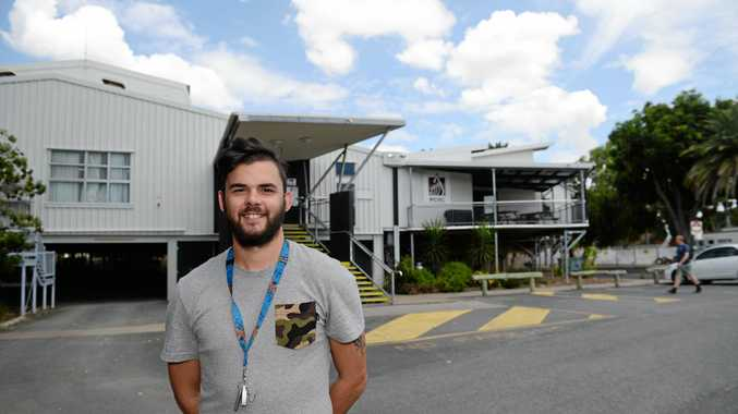 BIG PLANS: 23-year-old Jade Smith plans to bring Youth Week to Woorabinda through a touch footy carnival with his new role as National Youth week champion