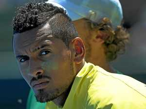 Kyrgios slams umpire during Marseille defeat