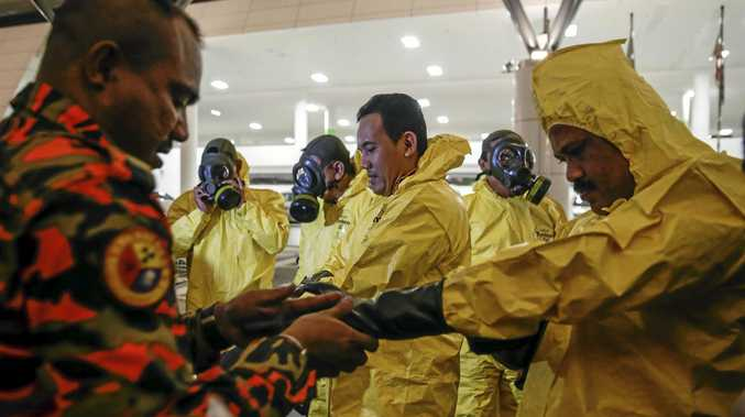 Kuala Lumpur International Airport has been checked for residue of the highly toxic chemical weapon known as VX nerve agent.