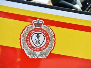 Rural Fire Brigade puts grass fire out on Granite Belt