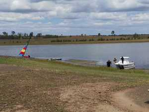 Man missing, possibly drowned at Lake Wivenhoe