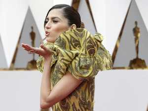 Oscars guest's shocking wardrobe malfunction