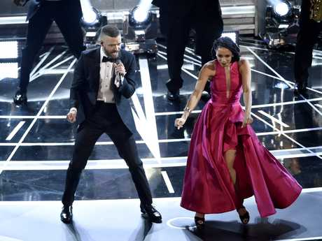 Justin Timberlake performs songs from best original song nominee \