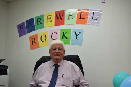 FAREWELL ROCKY: After almost 50 years working in the justice system, retiring magistrate Graeme \