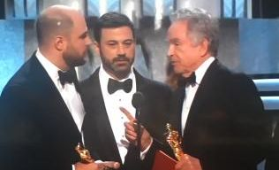 IN A monumental stuff-up, La La Land was incorrectly named Best Picture. During the acceptance speech, the real winner was revealed.