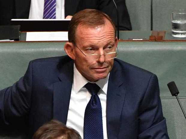 Former prime minister Tony Abbott during Question Time at Parliament House in Canberra, Wednesday, Feb. 8, 2017.