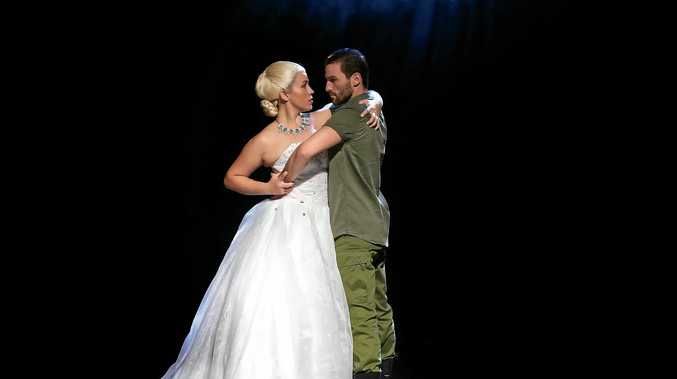 TRADITION CONTINUES: Kasey Mckenzie and Tyson Almond star in Gosford Musical Society's production of Evita.