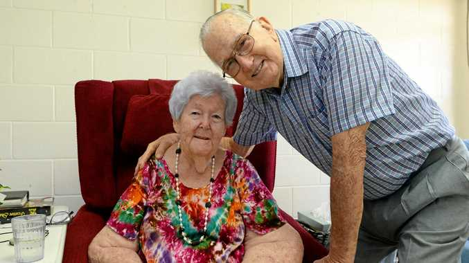 Beryl and Clifford Perkins have celebrated their 65th wedding anniversary.