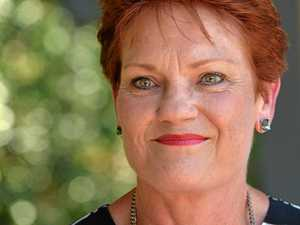 One Nation leader Pauline Hanson. The party has done extremely well in a poll commissioned by the Australia Institute and conducted by ReachTEL.