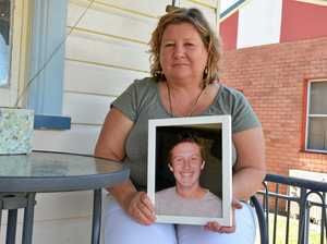The front porch was Dianne Steel and her late son Cameron Britt's favourite place to sit together.