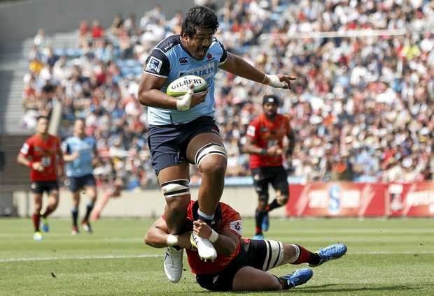 FITTER, STRONGER: Will Skelton has come back to the Waratahs match fit after a stint with UK club Saracens.