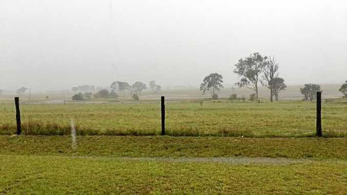 The South Burnett in in for some rain.