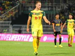 IN MALAYSIA: Zac Anderson plays for Kedah FA.