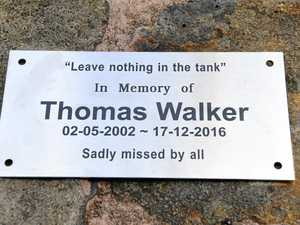 Ceremony held to remember Thomas Walker