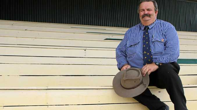 DEDICATION: Long-time volunteer and Warwick Show chairman John Wilson is excited to present the 150th show this year with the help of an incredible team of volunteers.