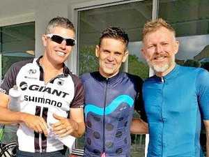 Byron Bay Cycling Club C-grade rider, Neil Scott won the sprint, Nick Ruane won the event and Nick Smith was second at the BBCC crits race on the weekend.