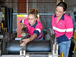 Mums take the 'blokey' jobs in their stride
