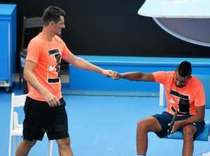 Tomic and Kyrgios set for Mexican showdown