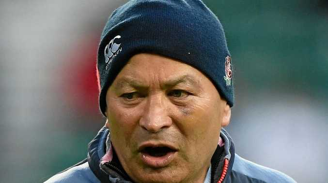 FRUSTRATED: An angry Eddie Jones has slammed Italy's tactics in the Six Nations loss to England.