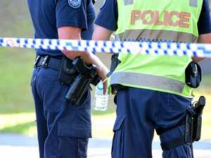 Teen, man charged over alleged armed robbery