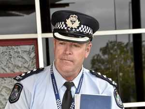 DRUG WAR: Inspector Stephen Angus says Toowoomba police will continue to crack down on the illicit drug trade across the city.