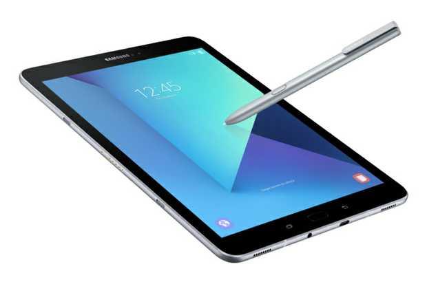 The Samsung Galaxy Tab 3 tablet.