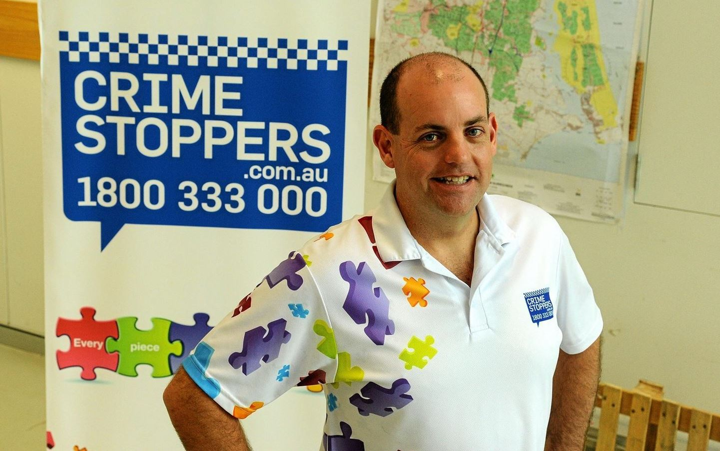 Crime Stoppers Queensland CEO Trevor O'Hara is happy with the 2016 arrest and charge results.
