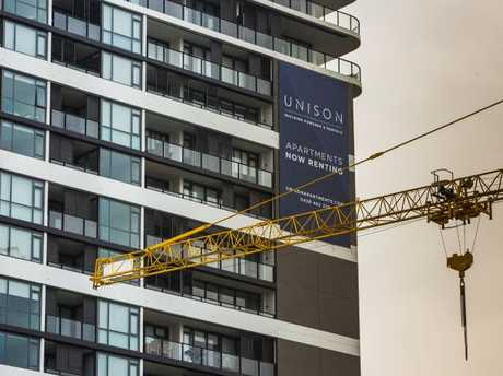 Brisbane apartment prices are predicted to continue falling for at least three years.