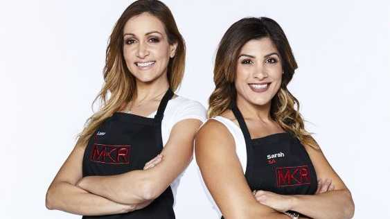 My Kitchen Rules contestants Lama and Sarah.