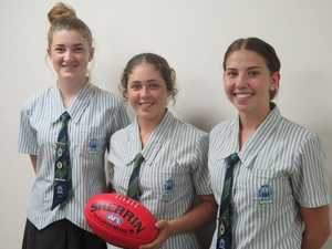 TCC AFL girls