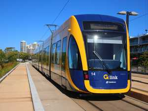 General shots of the G:Link lightrail trams Pic by David Clark