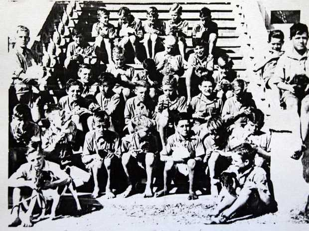 A picture of some of the boys from Bindoon Boys Town taken from a book by Lionel Welsh, Called Orphan of the Empire. Source: News Corp Australia