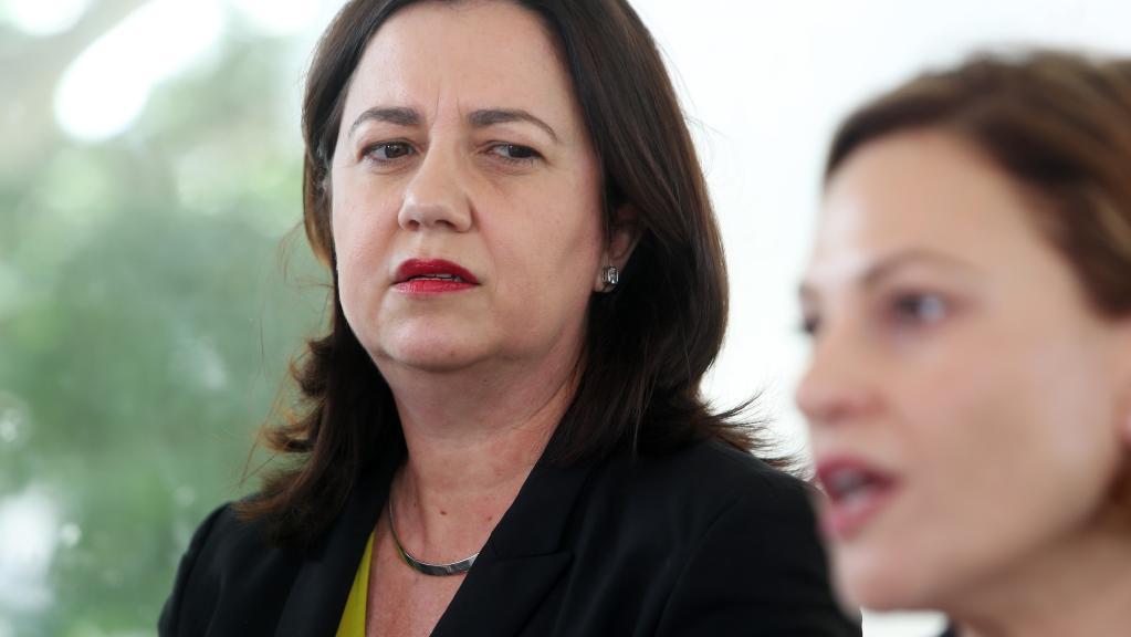 Premier Annastacia Palaszczuk and Deputy Premier Jackie Trad.